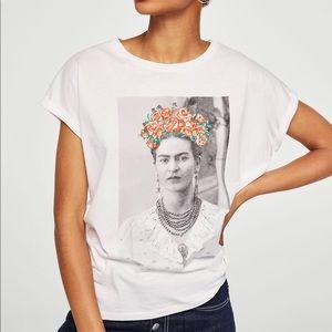 MANGO Frida Kahlo T-Shirt